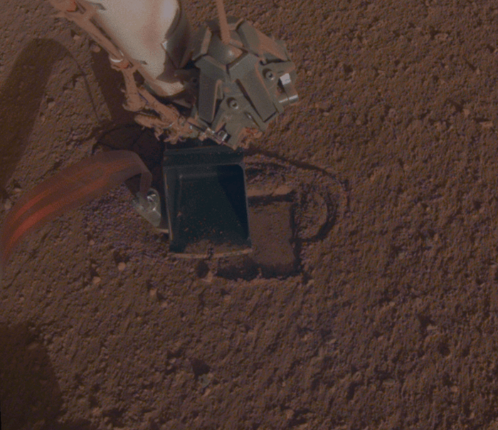 InSight's Mole has successfully dug another two centimeters this week with the help of the lander's robotic arm.