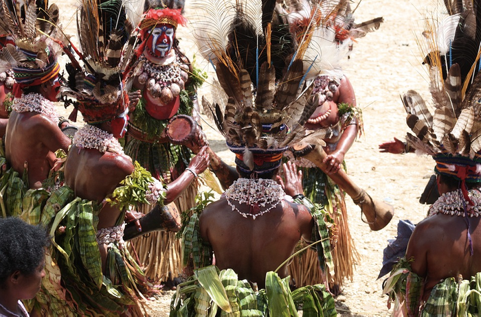 A tribe from the highlands of Papua New Guinea / Credit: Pixabay