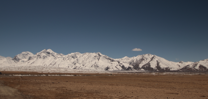 Mountains in Tibet / Image credit: © Carmen Leitch