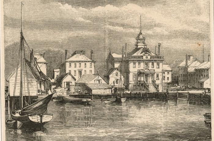 Salem, Massachusetts Custom House / Image credit: Picryl/ New York Public Library's Public Domain Archive