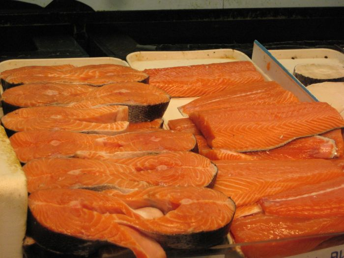 Canada approves GM salmon for sale in public supermarkets.