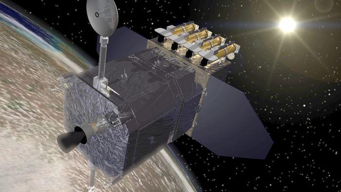 The Solar Dynamics Observatory (SDO) lets NASA study the Sun in ultraviolet light.