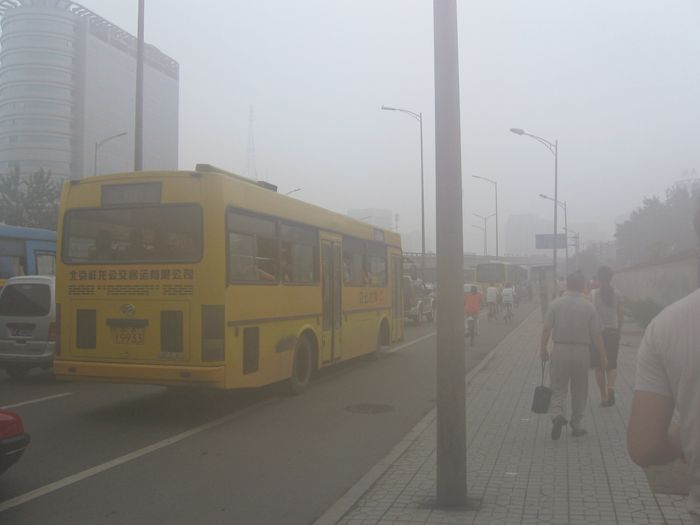 Beijing Smog / Credit: Wikimedia