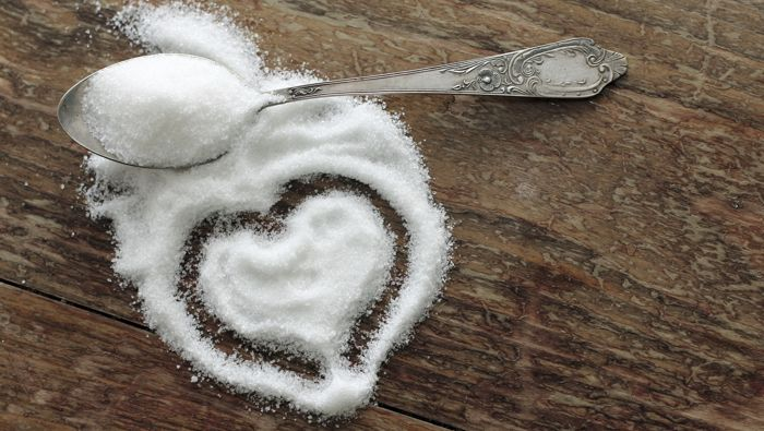Sugar increases the chance of dying prematurely from heart problems by three times versus those who eat foods with very little added sugar (Public Domain)