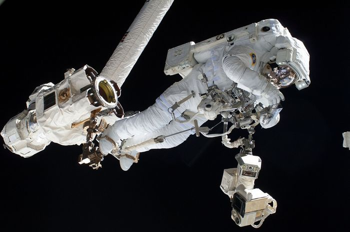 Spacewalks are dangerous, but more so when your safety equipment isn't working right.