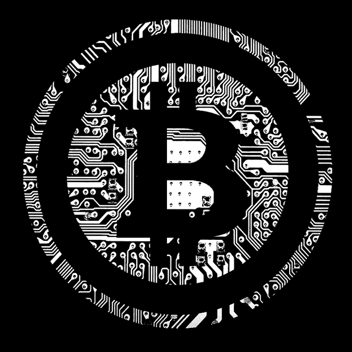 cryptocurrency/bitcoin illustration, credit: public domain