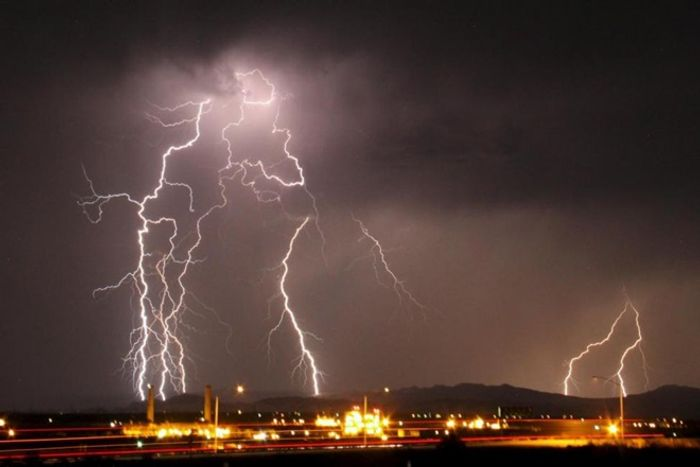 Fourteen people were struck and killed by lightning in Andhra Pradesh. Photo: The Financial Express