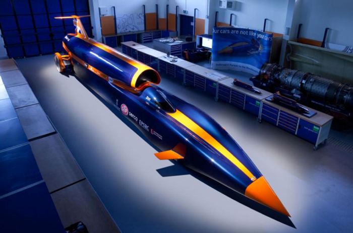The Bloodhound will attempt to travel 1000 miles per hour.