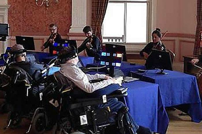 Paramusical Ensemble in the UK creates music from brain waves