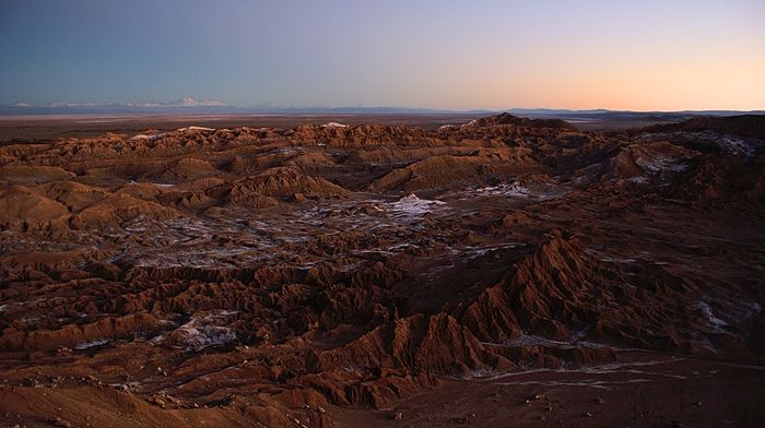 Chile's Atacama desert. Photo: Pixabay