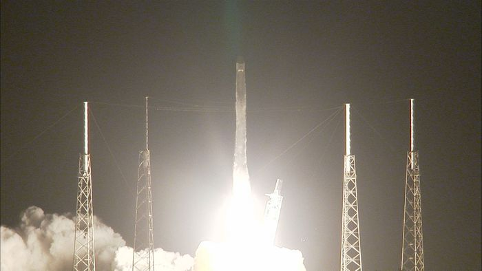 SpaceX sent a resupply mission to the ISS on Monday, following a separate resupply mission from Kazakhstan on Sunday.