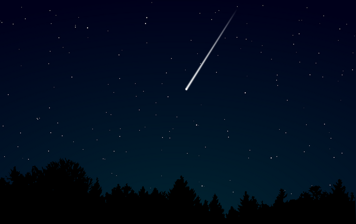 Meteors often enter the Earth's atmosphere, causing a flash of light and a loud sonic boom that resembles lightning and thunder.