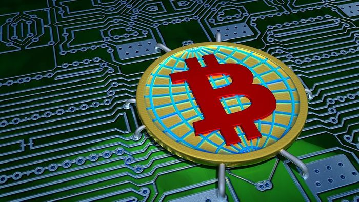 Bitcoin illustration, credit: public domain
