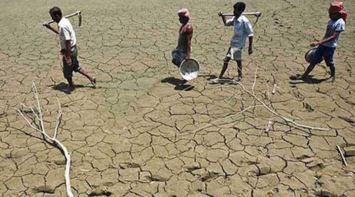 Photo: Thousands of farmers and farm workers commit suicide each year due to the stress of fluctuating weather patterns. Photo: The Indian Express