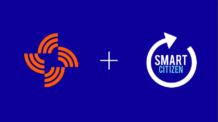 Streamr plus Smart Citizen Logos, credit: Streamr