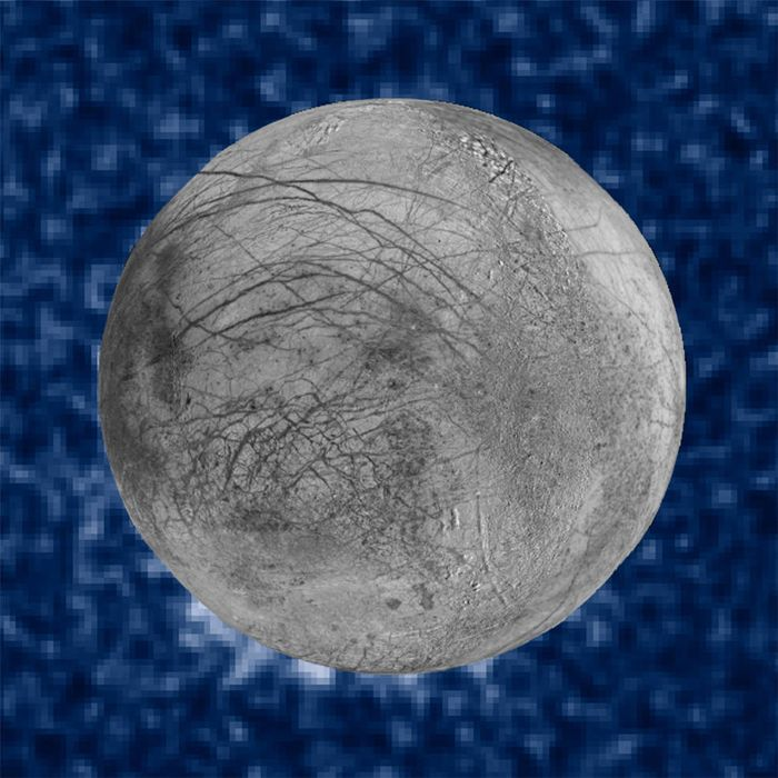 NASA's Hubble Space Telescope has reportedly spotted water plumes blasting out of Europa's surface and into space.