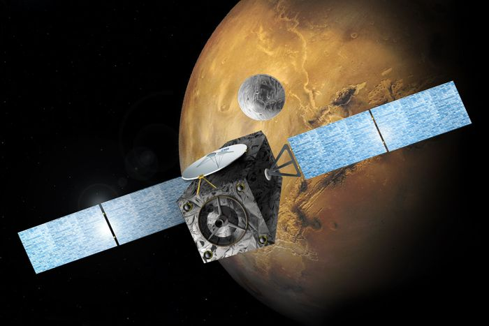 The ESA's ExoMars orbiter has fine-tuned its trajectory with a simple rocket burn.