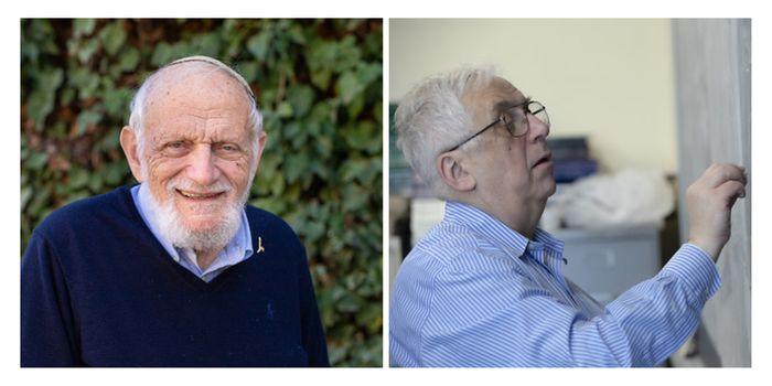 2020 Laureates Hillel Furstenberg and Gregory Margulis (Abel Prize)