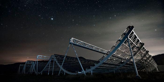 CHIME Telescope (Wikimedia Common)