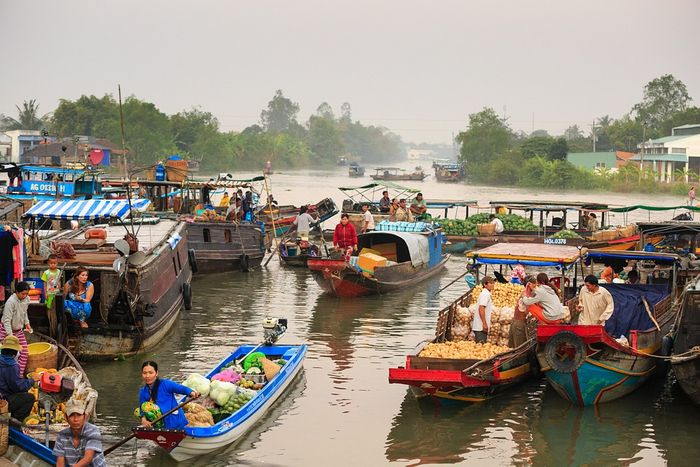 The Mekong River Delta supports 18 million people. Photo: Pixabay