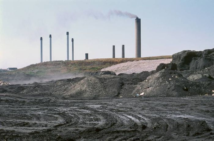 Coal ash is toxic to humans and wildlife. Photo: Tree Hugger