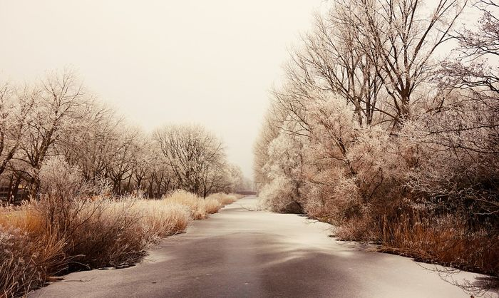 What will be the fate of frozen rivers? Photo: Pixabay