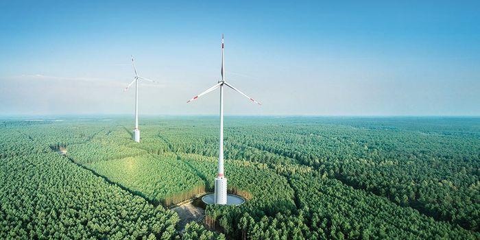 turbine in Gaildorf, credit: Max Bögl Wind AG