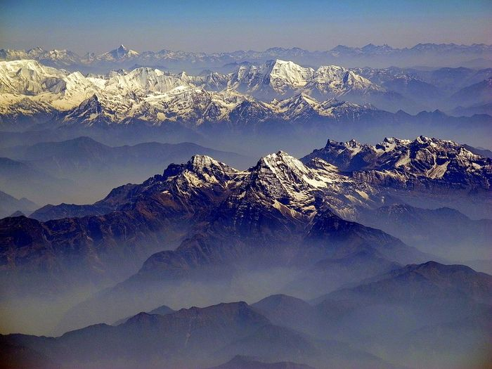 The Himalaya glaciers feed rivers that provides millions of people with water. Photo: Pixabay
