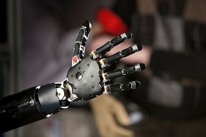 High tech limbs can be controlled by the wearer's thoughts