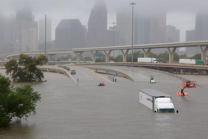 Impacts of Hurricane Harvey devastated many homes. Photo: PBS