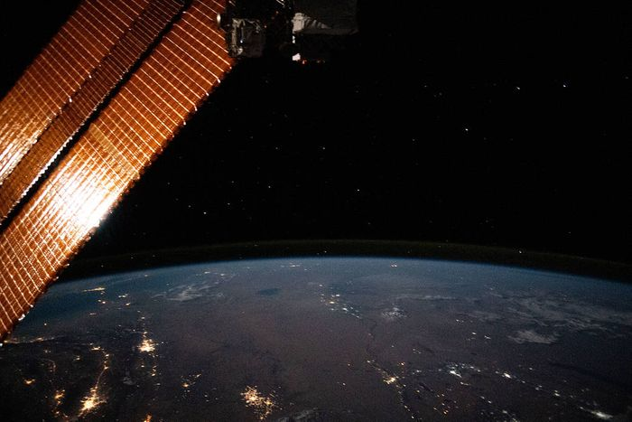 An image taken from the ISS / Credit: NASA