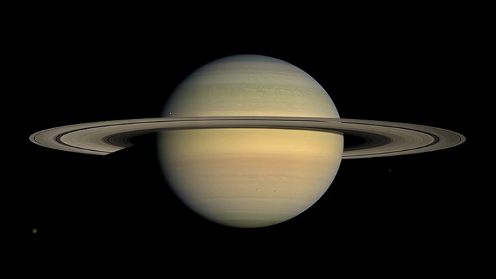 Saturn and its rings (NASA/JPL/Space Science Institute)