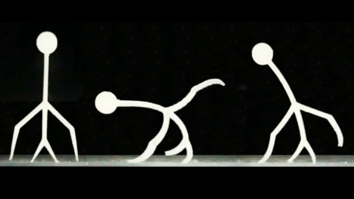 A 3D-printed hydrogel micro-device walking underwater (Daehoon Han/Rutgers University)