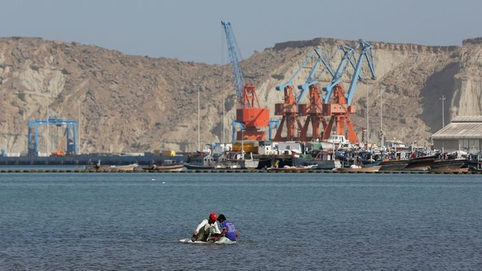 Some infrastructure projects have already begun, like this one in the Gwadar port in Pakistan. Photo: The Atlantic