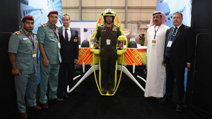 The Martian Jetpack is perfect for first responders that need an efficient way to get to those in distress.
