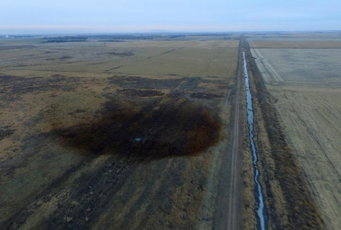 The pipeline covers over 2,000 miles. Photo: US News & World Report