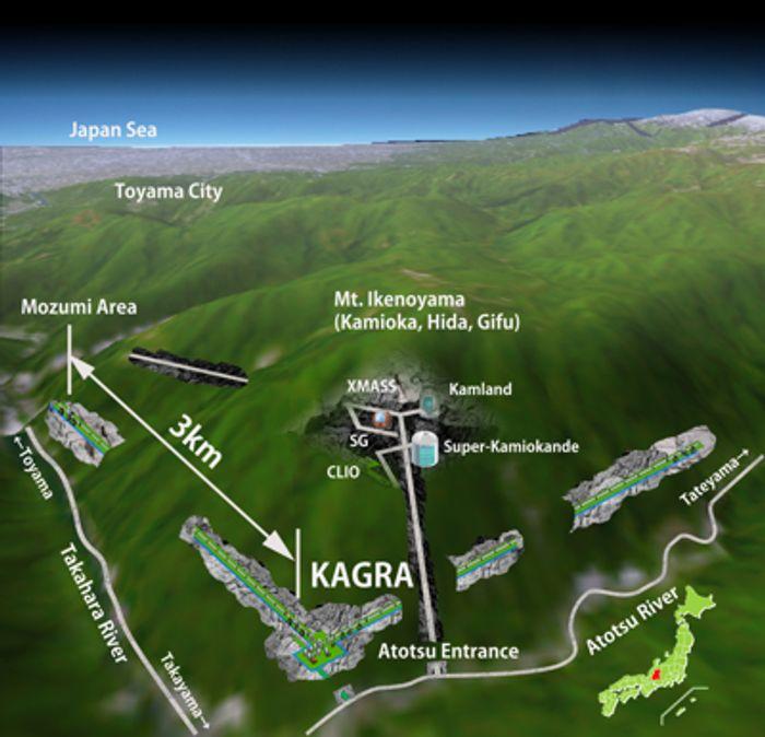 KAGRA Structure Scheme (ICRR)