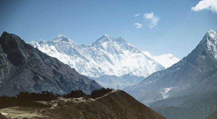 Are the Himalayan glaciers endangered? Photo: Pixabay