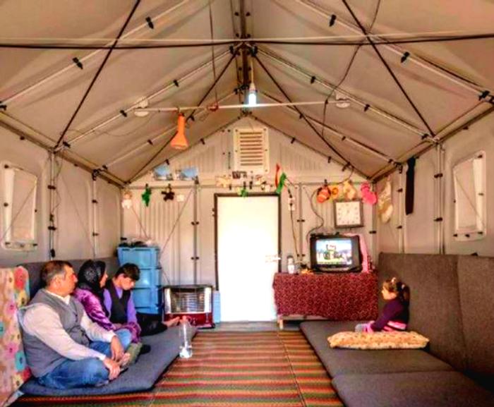 Better Shelter's design, credit: Better Shelter