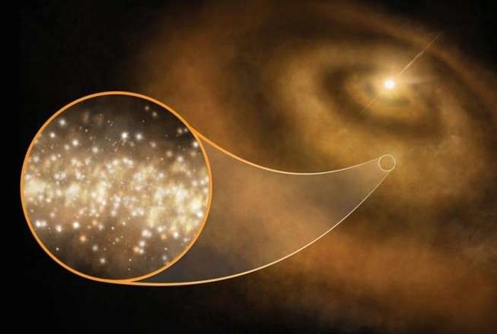 Stellar nanodiamonds may have warped starlight in such a way that it yielded unexpected data during observations.