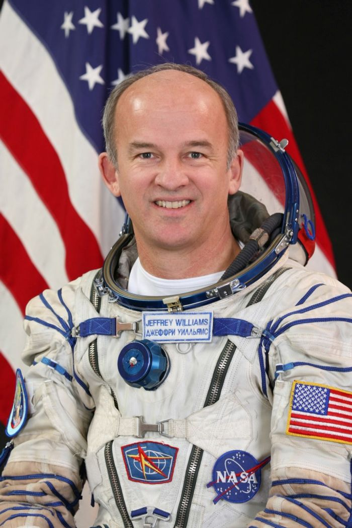 NASA's Jeff Williams will be returning to space and breaking Scott Kelly's record for total days in space for any U.S. astronaut.