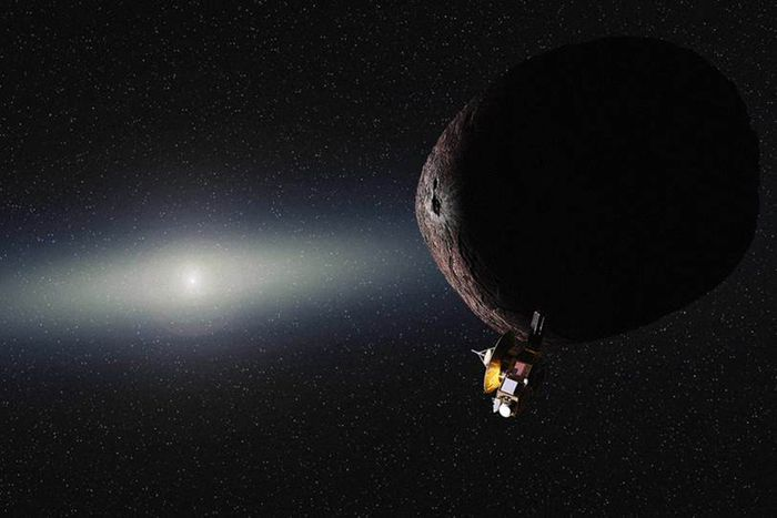 New Horizons' next target in our Solar System is a Kuiper Belt Object (KBO) known as 2014 MU69.