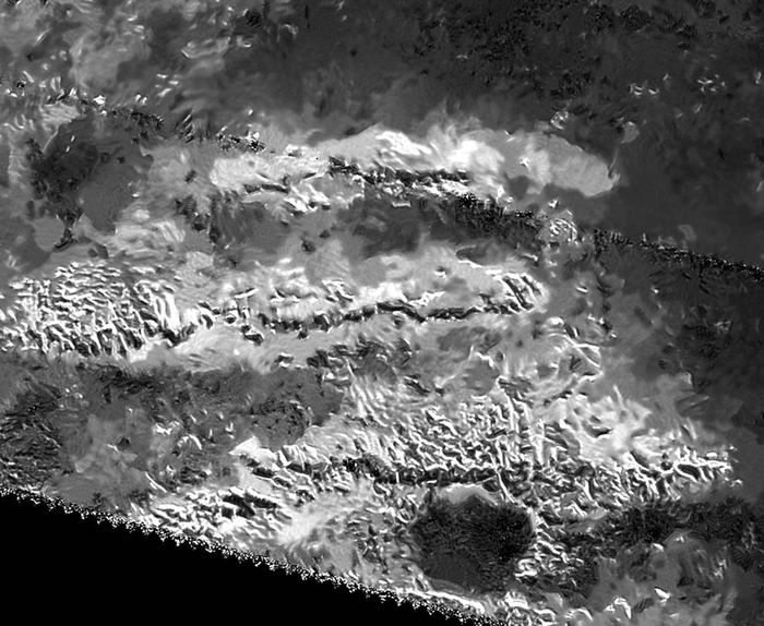 NASA says a peak in the Mithrim Montes on Titan is the tallest on the entire moon.