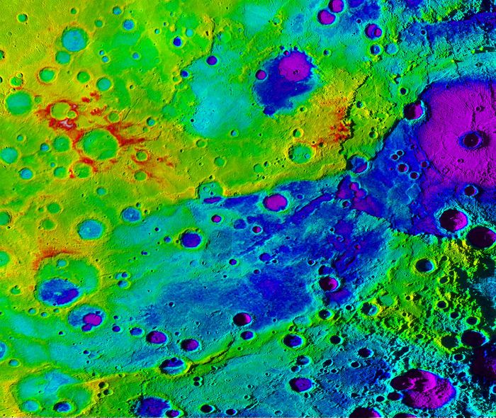 Mercury's Great Valley is reportedly the result of planetary shrinking.