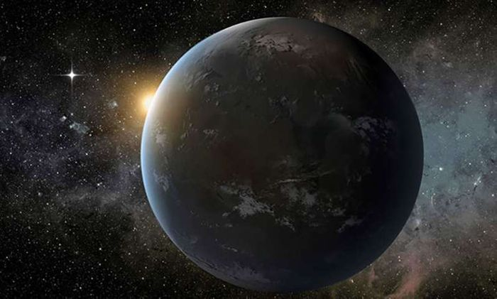 Does a not-too-distant exoplanet have the means to support life?